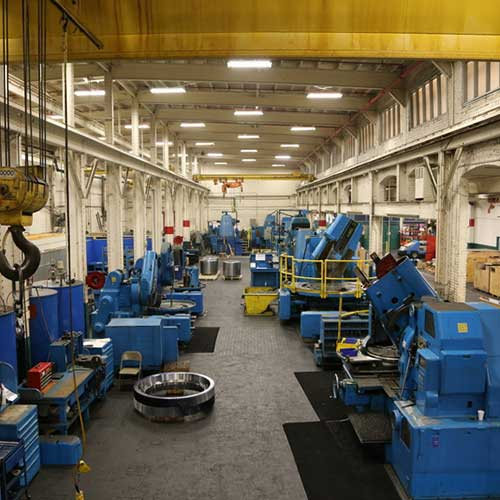 Horsburgh & Scott's industrial gear manufacturing facility.